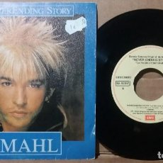 Disques de vinyle: LIMAHL / NEVER ENDING STORY / SINGLE 7 INCH. Lote 236491420