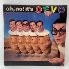 Discos de vinilo: LP - VINILO DEVO - OH, NO! IT'S - ESPAÑA - AÑO 1982. Lote 236495745