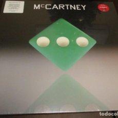 Discos de vinilo: PAUL MCCARTNEY - III - LP - VINILO VERDE - PRECINTADO - THE BEATLES. Lote 236503545