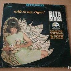 Discos de vinilo: LP RITA MOSS TALK TO ME TIGER DOT RECORDS AÑO 1966 USA. Lote 236512420