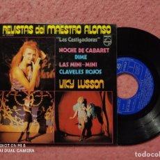 """Discos de vinilo: EP VIKY LUSSON - NOCHE DE CABARET / DIME +2 - PHILIPS 62 24 019 (EX+/VG++) """"LAS CASTIGADORAS"""". Lote 236514175"""