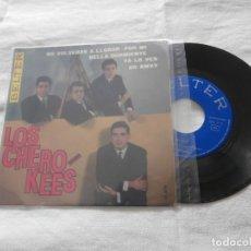 Discos de vinilo: LOS CHEROKEES 7´EP NO NOLVERE A LLORAR POR MI + 3 (1965) EXCELENTE CONDICION *COLECCIONISMO. Lote 236518495