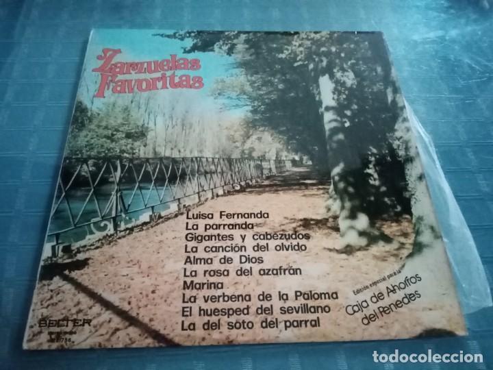 ZARZUELAS FAVORITAS EDICIÓN ESPECIAL PARA LA CAJA DE AHORROS LAYETANA (Música - Discos - LP Vinilo - Otros estilos)