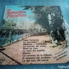 Discos de vinilo: ZARZUELAS FAVORITAS EDICIÓN ESPECIAL PARA LA CAJA DE AHORROS LAYETANA. Lote 236521760