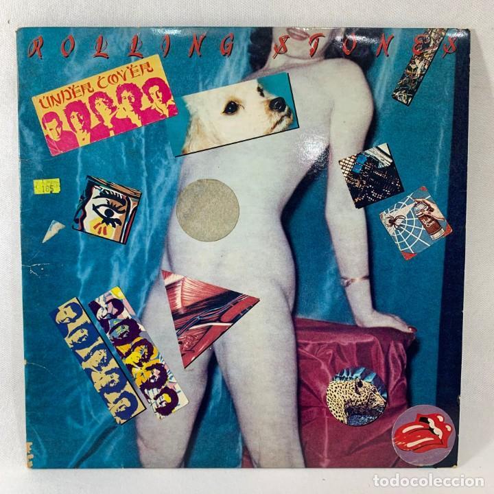 LP - VINILO ROLLING STONES - UNDERCOVER + ENCARTE - USA - AÑO 1983 (Música - Discos - LP Vinilo - Pop - Rock - New Wave Extranjero de los 80)
