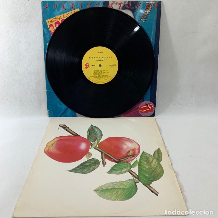 Discos de vinilo: LP - VINILO ROLLING STONES - UNDERCOVER + ENCARTE - USA - AÑO 1983 - Foto 3 - 236522360