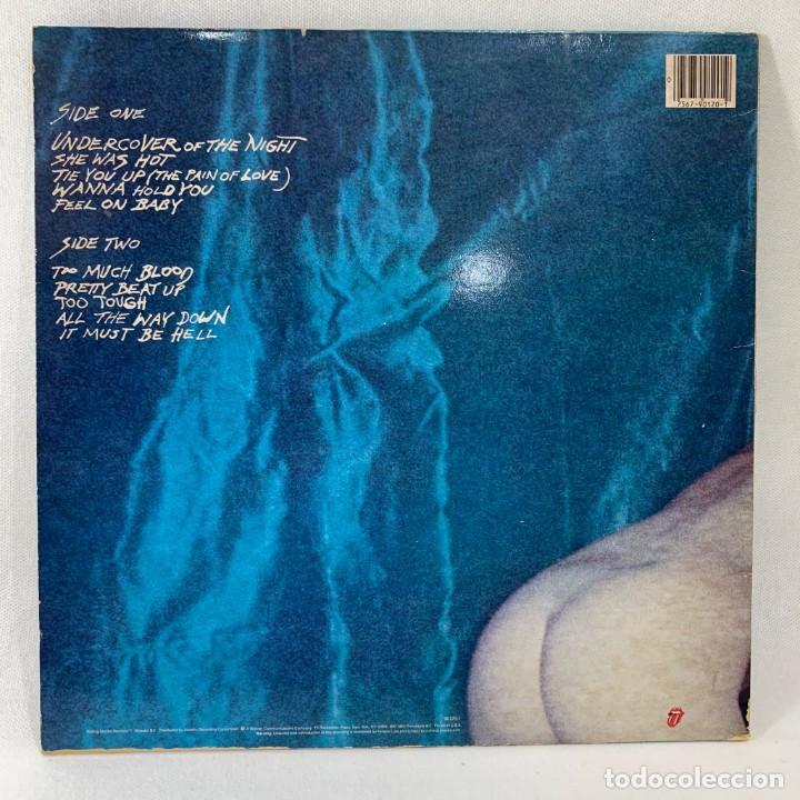 Discos de vinilo: LP - VINILO ROLLING STONES - UNDERCOVER + ENCARTE - USA - AÑO 1983 - Foto 4 - 236522360