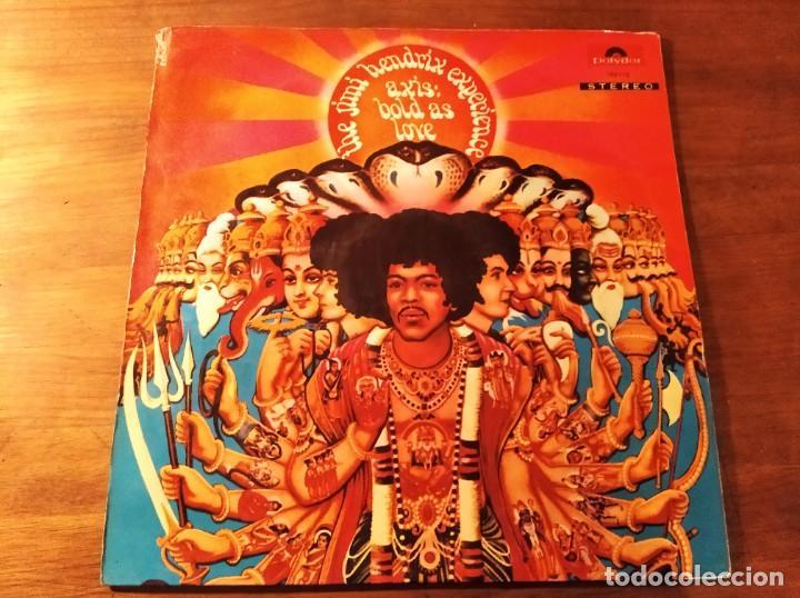 JIMI HENDRIX EXPERIENCE - AXIS: BOLD AS LOVE **** RARO LP ESPAÑOL ORIGINAL GATEFOLD 1968! (Música - Discos - LP Vinilo - Pop - Rock Extranjero de los 50 y 60)