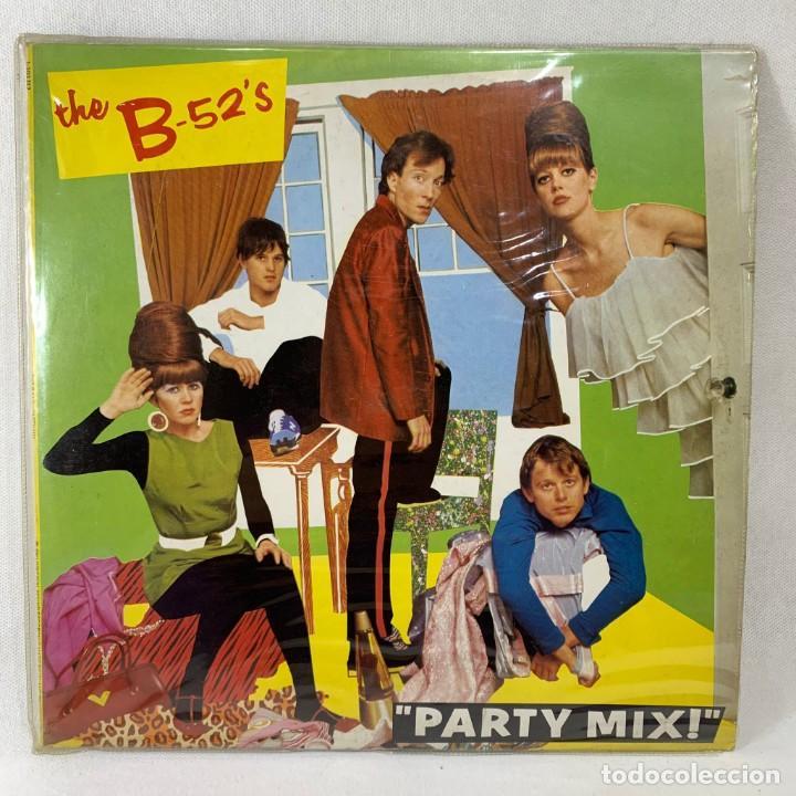 LP - VINILO THE B-52'S - PARTY MIX! - ESPAÑA - AÑO 1981 (Música - Discos - LP Vinilo - Pop - Rock - New Wave Extranjero de los 80)