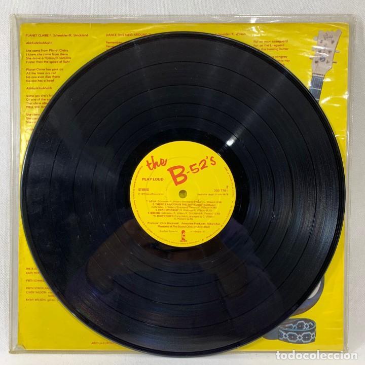 LP - VINILO THE B-52'S - PLAY LOUD - ESPAÑA - AÑO 1981 (Música - Discos - LP Vinilo - Pop - Rock - New Wave Extranjero de los 80)