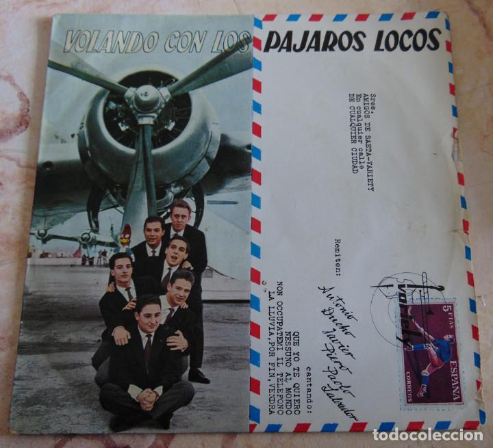 LOS PÁJAROS LOCOS – VOLANDO CON LOS PÁJAROS LOCOS - EP 1960 (Música - Discos de Vinilo - EPs - Grupos Españoles 50 y 60)