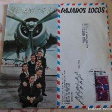 Discos de vinilo: LOS PÁJAROS LOCOS – VOLANDO CON LOS PÁJAROS LOCOS - EP 1960. Lote 236529285