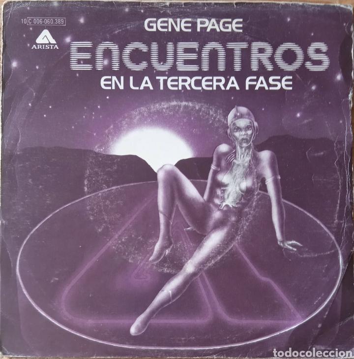 SINGLE GENE PAGE (Música - Discos - Singles Vinilo - Bandas Sonoras y Actores)