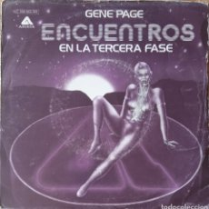 Discos de vinilo: SINGLE GENE PAGE. Lote 236537425