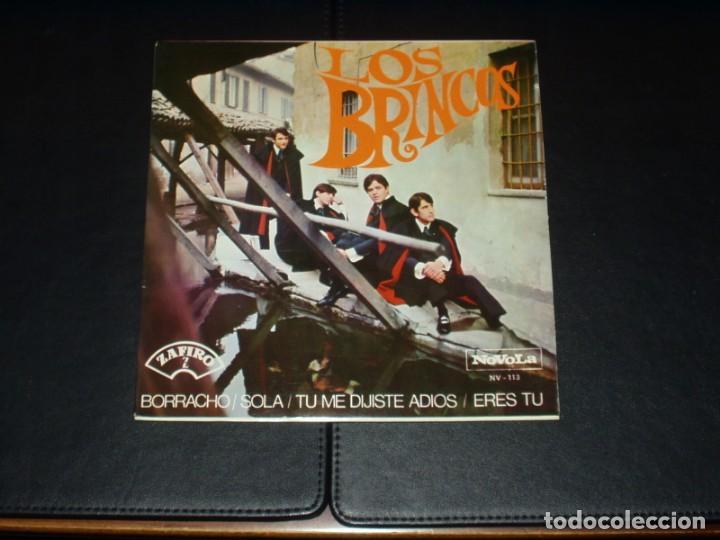 BRINCOS EP BORRACHO+3 (Música - Discos de Vinilo - EPs - Grupos Españoles 50 y 60)