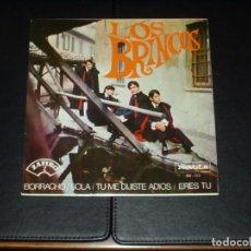 Discos de vinilo: BRINCOS EP BORRACHO+3. Lote 236541160