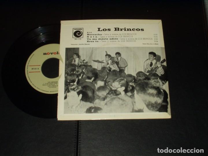 Discos de vinilo: BRINCOS EP BORRACHO+3 - Foto 2 - 236541160