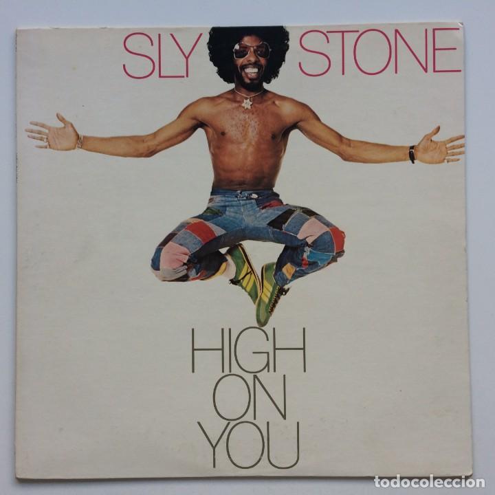 SLY STONE – HIGH ON YOU JAPAN,1975 EPIC (Música - Discos - LP Vinilo - Funk, Soul y Black Music)