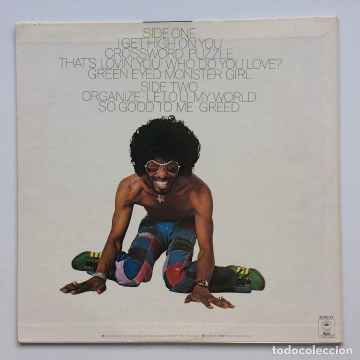 Discos de vinilo: Sly Stone – High On You Japan,1975 Epic - Foto 2 - 236553395
