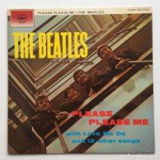 Discos de vinilo: THE BEATLES – PLEASE PLEASE ME JAPAN,1976 APPLE RECORDS. Lote 236555525