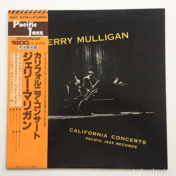 GERRY MULLIGAN – CALIFORNIA CONCERTS JAPAN,1978 PACIFIC JAZZ (Música - Discos - LP Vinilo - Jazz, Jazz-Rock, Blues y R&B)