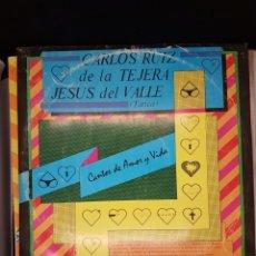 Discos de vinilo: CARLOS RUIZ DE LA TEJERA - CANTOS DE AMOR Y VIDA - 1.989 - HUMOR CUBA. Lote 236559115