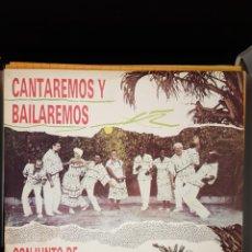 Discos de vinilo: CONJUNTO DE CLAVE Y GUAGANCO - CANTAREMOS Y BAILAREMOS. Lote 236563785