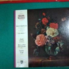 Discos de vinilo: BEETHOVEN. ARCHIDUC. PABLO CASALS - MIECZ YSLAW HORSZOWSKI- SANDOR VEGH. PHILIPS. EDICION LIMITADA. Lote 236564800