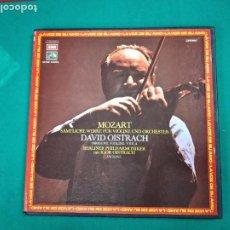 Discos de vinilo: MOZART. DAVID OISTRACH. 4 LP'S + LIBRETO.. Lote 236567025