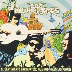 Discos de vinilo: LP LOS DELINQUENTES EL SENTIMIENTO GARRAPATERO VINILO VENNEO. Lote 236582025