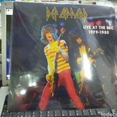 Discos de vinilo: DEF LEPPARD LP LIVE AT THE BBC 1979-1980 PRECINTADO. Lote 236585305