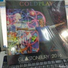 Discos de vinilo: COLDPLAY LP GLASTONBURY 2016 PRECINTADO. Lote 236586275