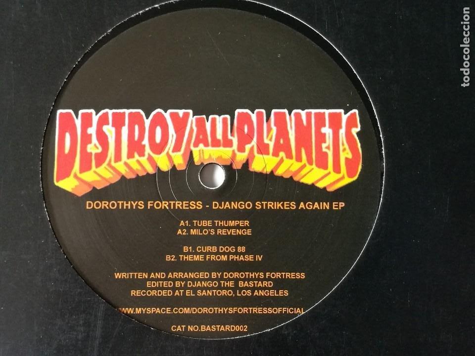 DOROTHYS FORTRESS - DJANGO STRIKES AGAIN EP - 2009 (Música - Discos de Vinilo - Maxi Singles - Techno, Trance y House)