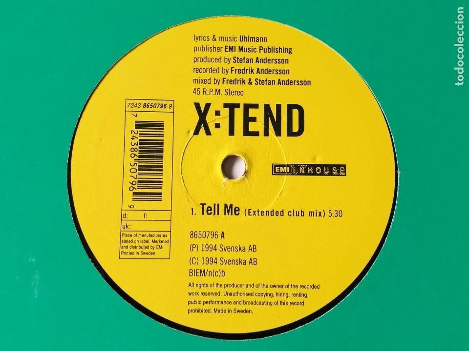 Discos de vinilo: X:Tend - Tell Me - 1994 - Foto 2 - 236595965