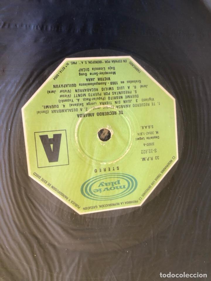 Discos de vinilo: Disco Víctor Jara, te recuerdo Amanda - Foto 3 - 236598325