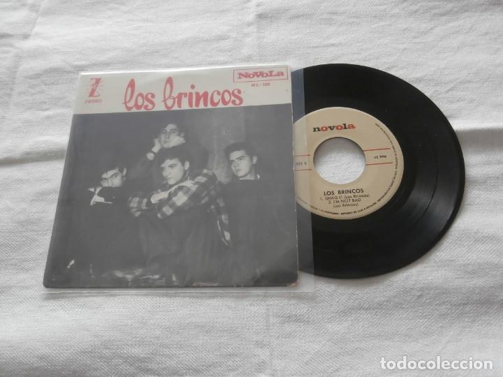 LOS BRINCOS 7.`EP DANCE THE PULGA + 3 TEMAS (1964) BUENA CONDICION (Música - Discos de Vinilo - EPs - Grupos Españoles 50 y 60)