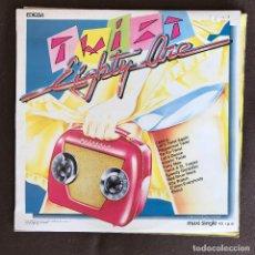 Discos de vinilo: TWIST EIGHTY ONE - TWIST EIGHTY ONE - 12'' MAXISINGLE EDIGSA SPAIN 1982. Lote 236603965