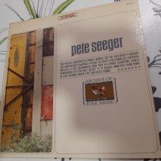 Discos de vinilo: PETE SEEGER ,THE HOUSE CARPENTER, ARCHIVES OF FOLK MUSIC LP. Lote 236610015