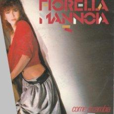 Discos de vinilo: 45 GIRI FIORELLA MANNOIA COME SI CAMBIA /FAI PIANO LABEL ARISTON ITALY 1984 SANREMO. Lote 236611435
