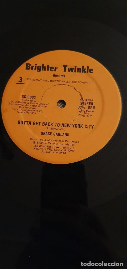 GRACE GARLAND – GOTTA GET BACK TO NYC / I WANT YOU LABEL: BRIGHTER TWINKLE RECORDS – GG-3003 (Música - Discos de Vinilo - Maxi Singles - Funk, Soul y Black Music)