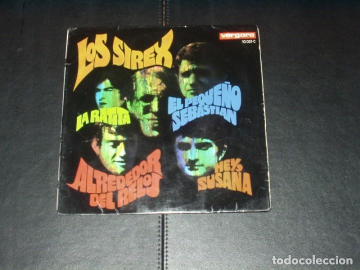 SIREX EP LA RATITA+3 (Música - Discos de Vinilo - EPs - Grupos Españoles 50 y 60)
