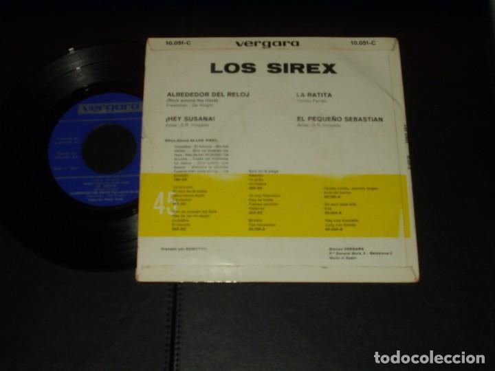 Discos de vinilo: SIREX EP LA RATITA+3 - Foto 2 - 236614080