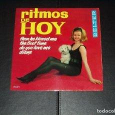 Discos de vinilo: RITMOS DE HOY EP VARIOS LAYABOUTS.-TONY STEVEN. FRANK BACON,JOANNA BELL. Lote 236617540