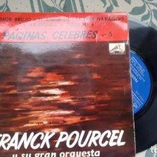 Discos de vinilo: E.P. (VINILO) DE FRANCK POURCEL AÑOS 60. Lote 236624615