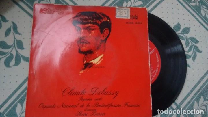 E.P. (VINILO) DE ORQUESTA NACUIONAL DE LA RADIODIFUSION FRANCESA AÑOS 60 (Música - Discos de Vinilo - EPs - Clásica, Ópera, Zarzuela y Marchas)