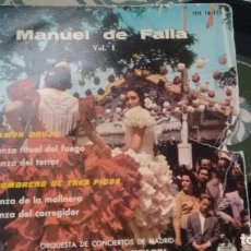 Discos de vinilo: E.P. (VINILO) DE ORQUEESTA DE CONCIERTOS DE MADRID AÑOS 50. Lote 236626440
