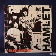 Discos de vinilo: HAMLET - SANATORIO DE MUÑECOS - LP. Lote 236628405