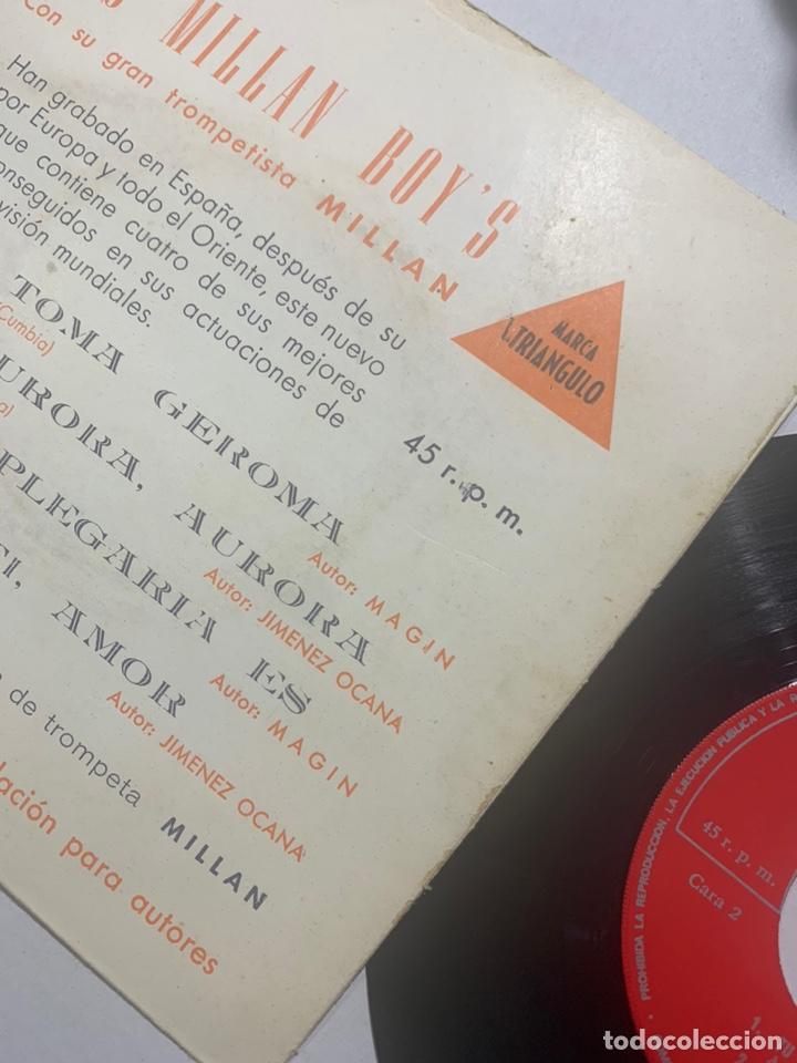 Discos de vinilo: Single ep los Millán boy's con su gran trompetista millan edición española de 1967 - Foto 2 - 236632215