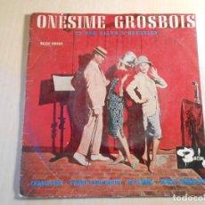 Discos de vinilo: ONESIME GROSBOIS - ET SON PIANO D´OCCASION -, EP, CHARLESTON + 3, AÑO 1961. Lote 236634075