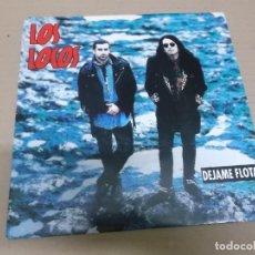 Discos de vinilo: LOS LOCOS (SINGLE) DEJAME FLOTAR AÑO 1993 - PROMOCIONAL. Lote 236640320